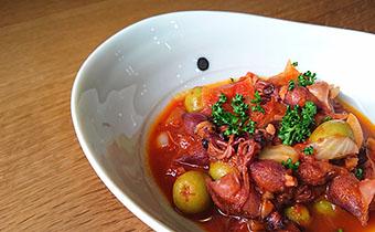 ホタルイカのトマト煮